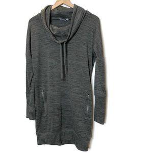 Athleta- Sport It Sweatshirt Cowl Neck Dress